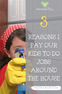 3 Reasons I Pay My Kids To Do Jobs Around The House Preparamom In 2020 Money Lessons Confidence Kids Mom Help