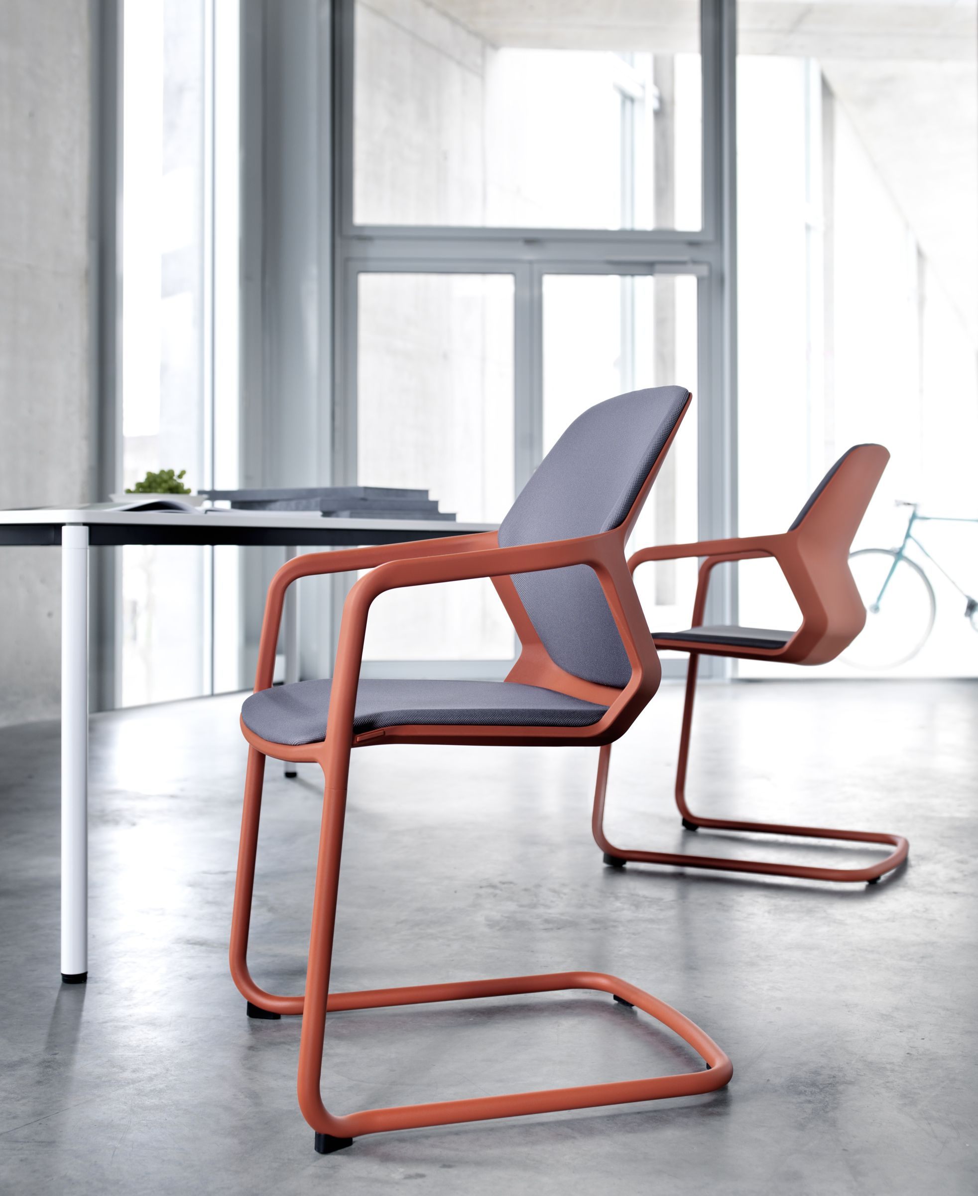 Wilkhahn Sessel Metrik Chair Cantilever Chair Desing By Whiteid Wilkhahn