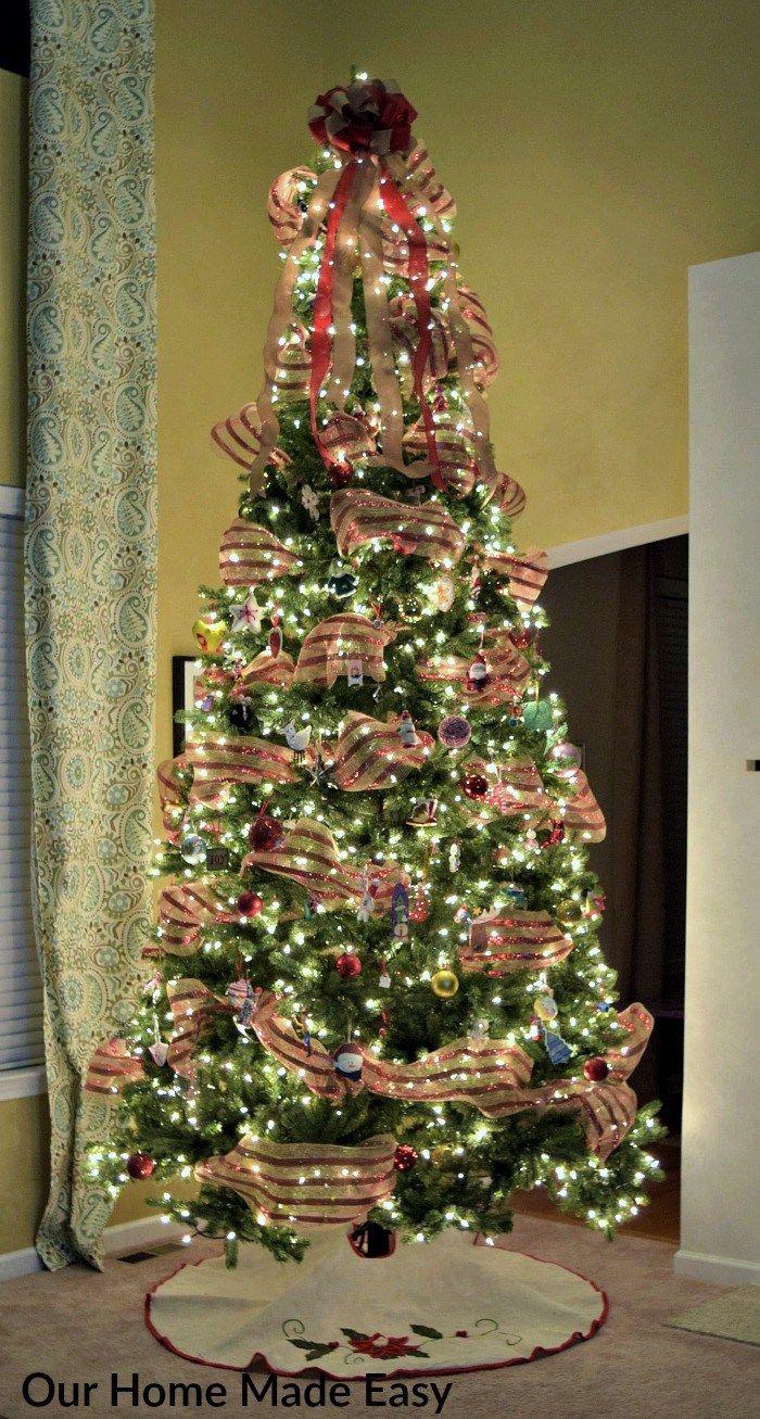 Our Christmas Tree Outdoor Christmas Decorations Christmas Decorations Rustic Pallet Christmas Tree