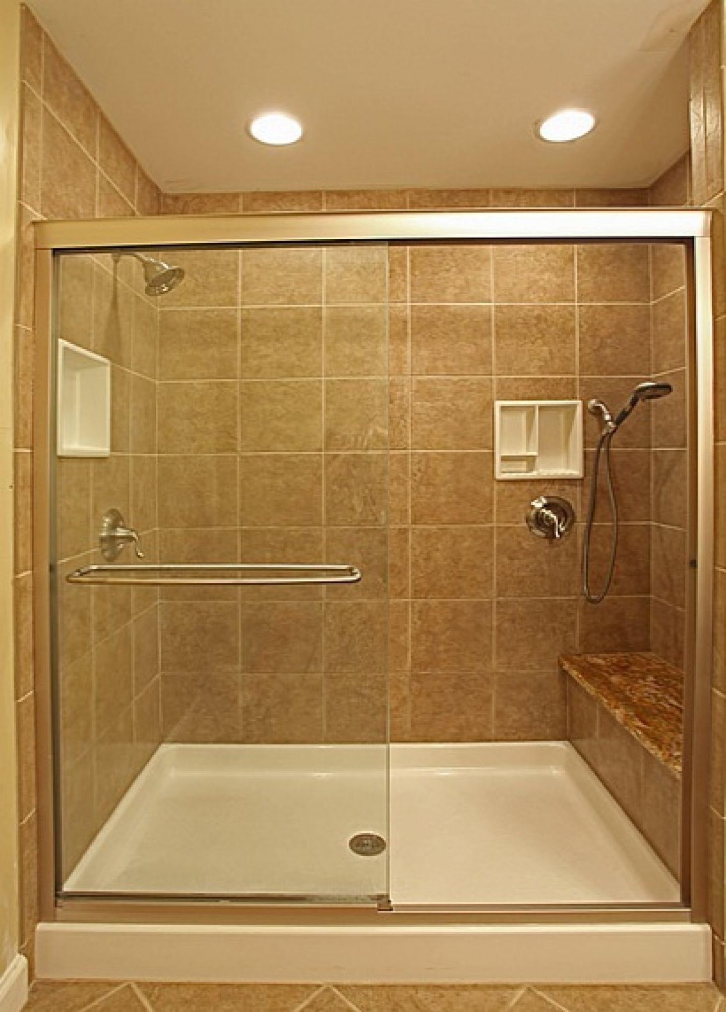 Sliding Door And Bench Bathroom Tile Designs Bathroom Shower Design Small Bathroom With Shower