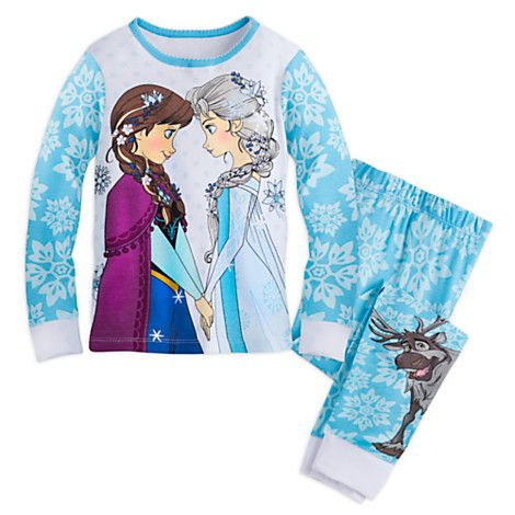 Frozen PJ PALS for Girls | Disney Store | Sleepwear Shop ...