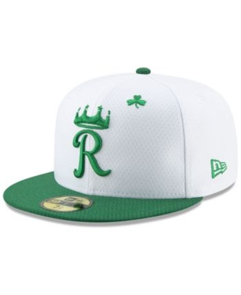 84fa5b59 New Era Kansas City Royals St. Pattys Day 59FIFTY-fitted Cap - White ...