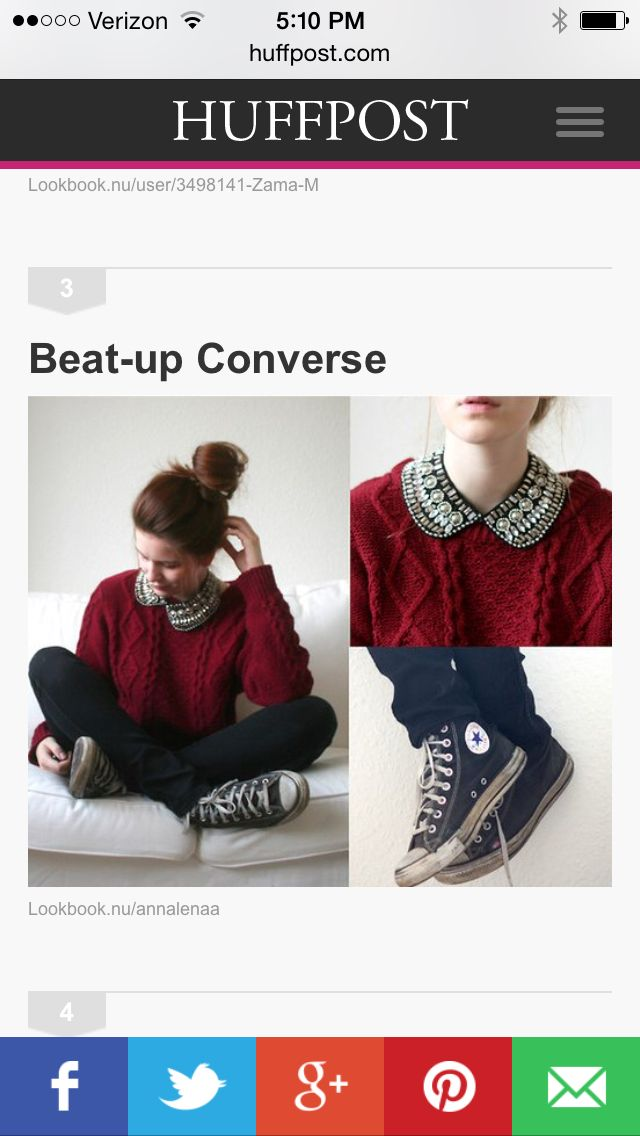 Red sweater converse outfit