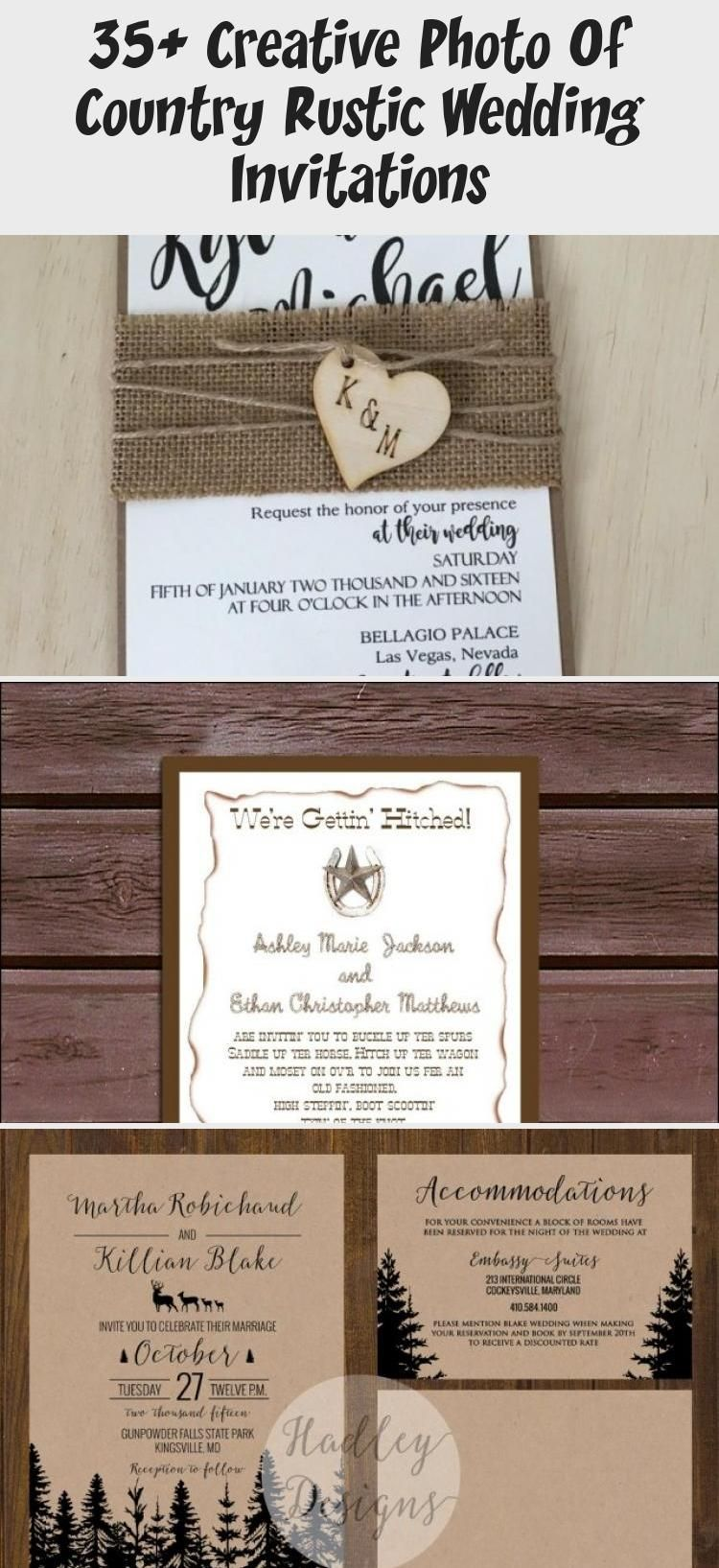 35 Creative Photo Of Country Rustic Wedding Invitations Wedding Invitations Rustic Rustic Wedding Invitations Burlap Wedding Invitations Diy Rustic