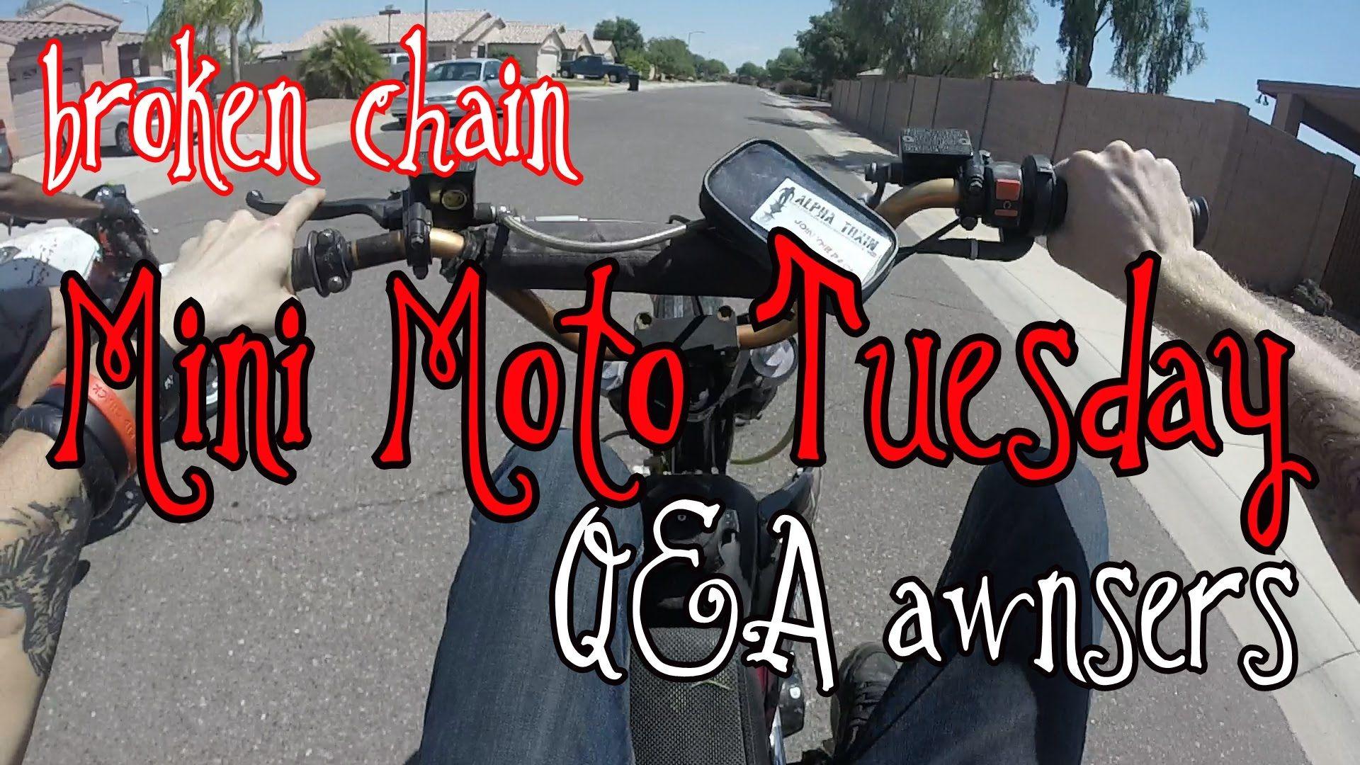 Pit bike adventure/ Q&A response /mmm6