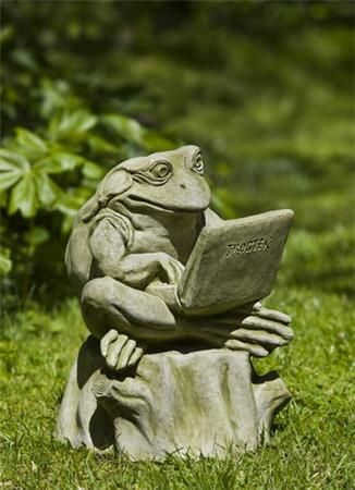 Lovely Campania International Totally Zen Too Frog Statue
