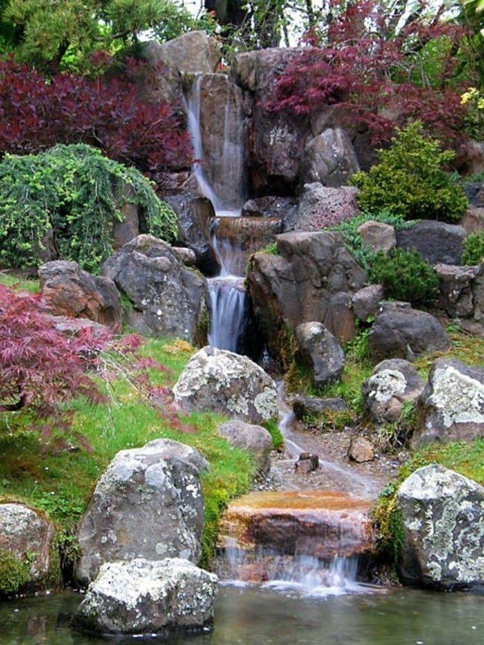 Wasserfall Im Garten Noch Ein Vorschlag Für Wasserfall Im Garten