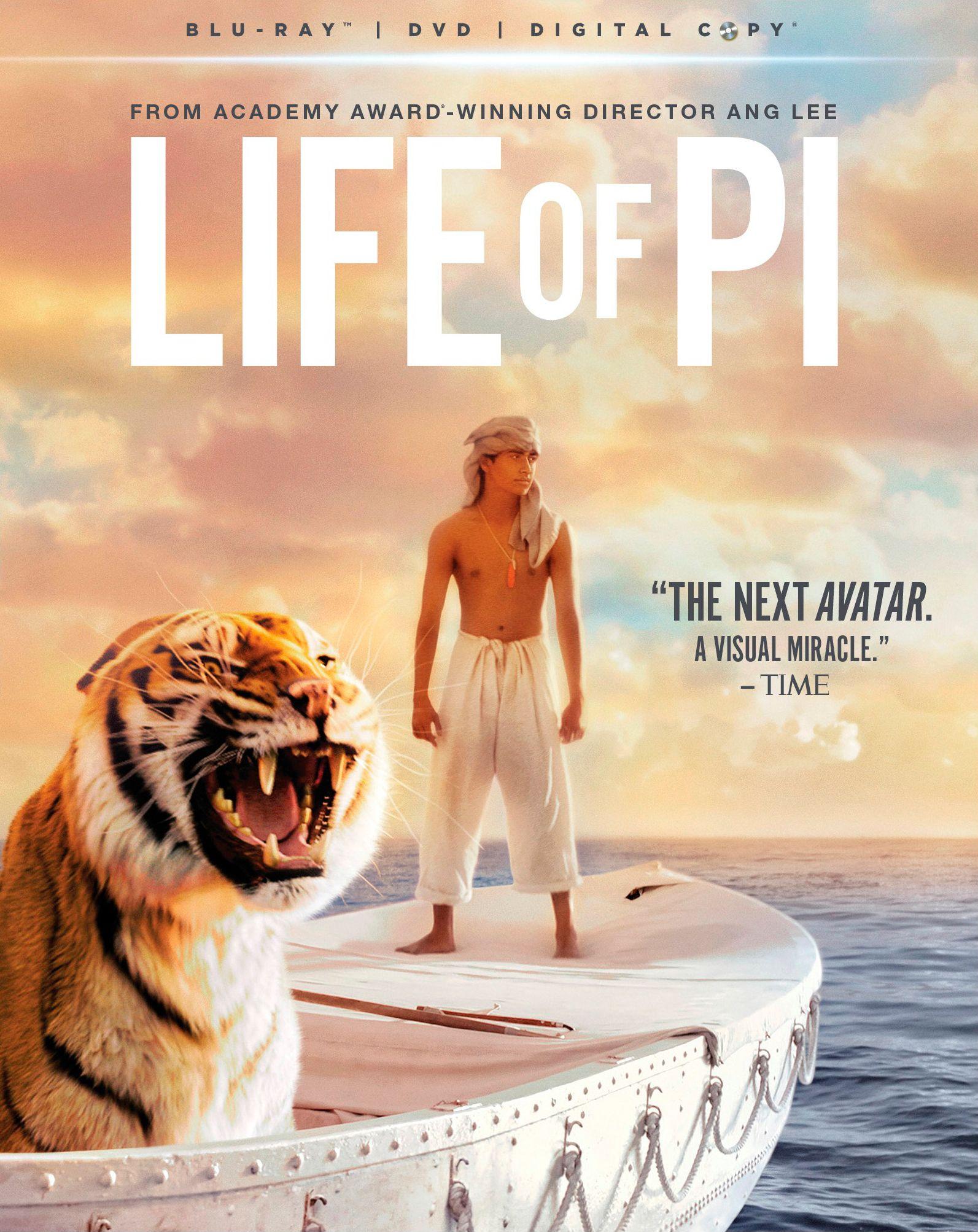 Life Of Pi Blu Ray Life Of Pi Ang Lee Life Of Pi 2012