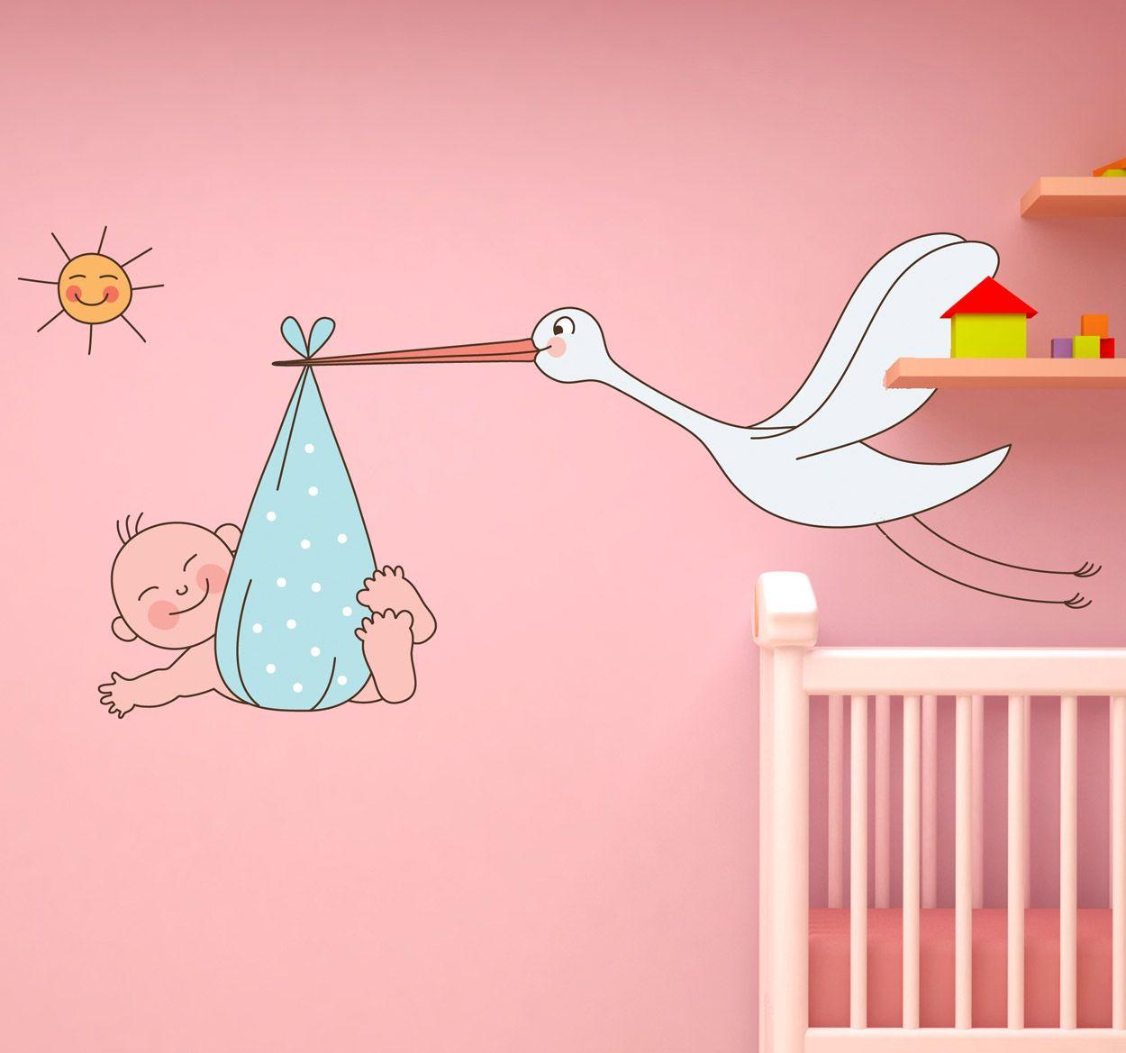 Idyllic Baby Wall Stickers - Furnithom