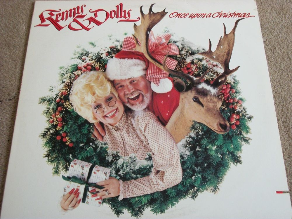 "Kenny Rogers / Dolly Parton / Once Upon A Christmas / 12"" Vinyl LP Record / RCA ASL1 15307 #Holiday #Music #Album"