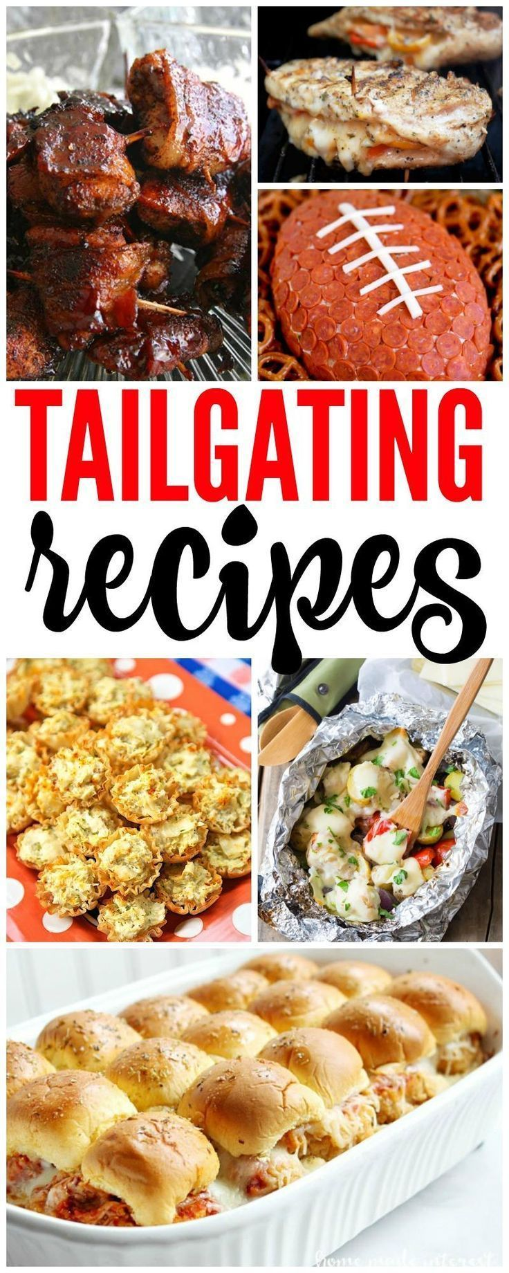 tailgating recipes for football season and game day! all of your