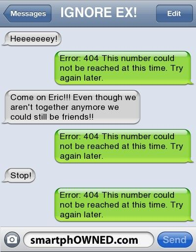 text messes