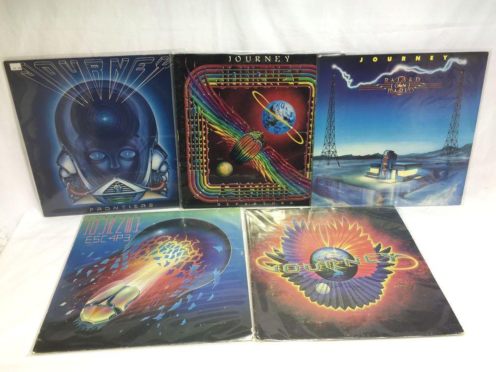 Journey Vinyl Record Lp Lot Frontiers Raised On Radio Departure Infinity Escape Vinyl Records Vinyl Lp Vinyl