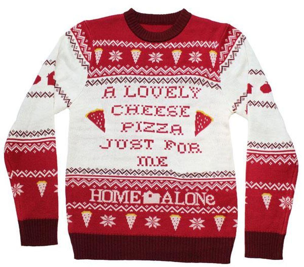 Black Jumper- Home Alone Merry Xmas Ya Flithy Animal Adults /& Kids Sizes
