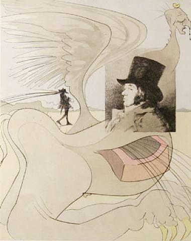 Salvador Dalí, Les Caprices de Goya, plate #80
