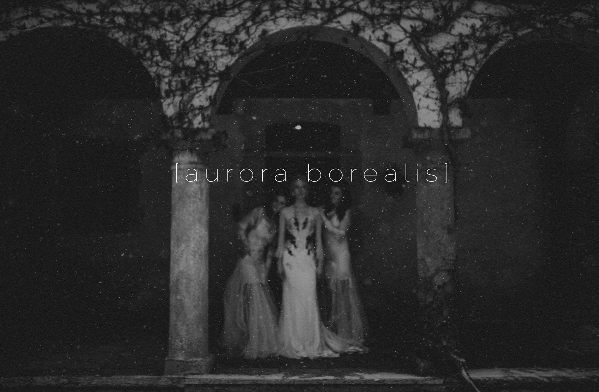 Aurora borealis nora sarman bridal photo the wedding