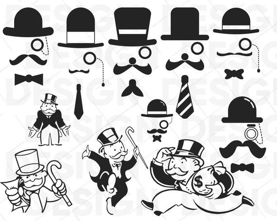 Free PNG Monopoly Pieces Clip Art Download - PinClipart