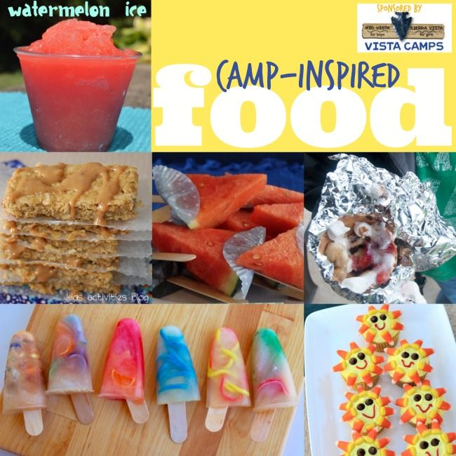 Fun Camping Ideas For Kids Camping Recipes And Fun: 50+ Summer Camp-Inspired Activities For Kids