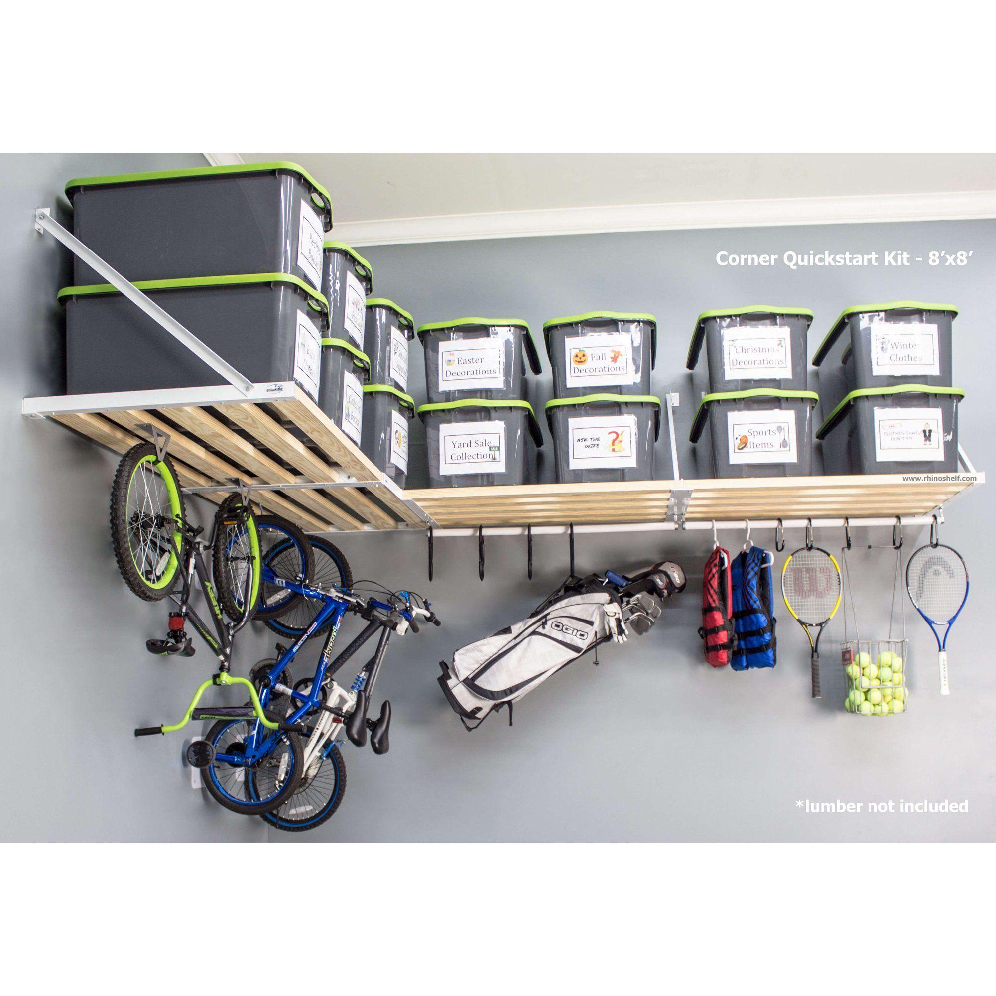 Rhino Shelf Universal Corner Quickstart Kit - 8 fe