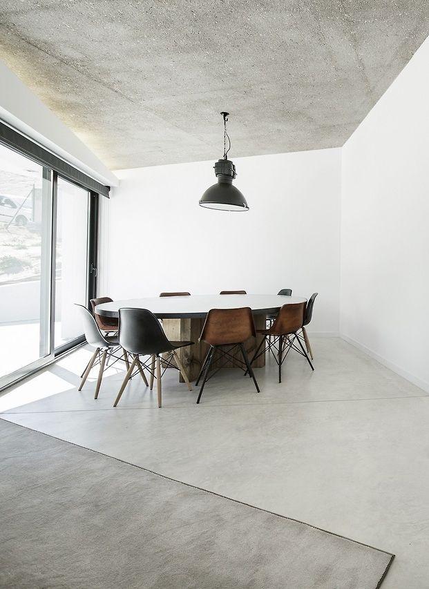 Architecture interior design modern surfaces home for Innenarchitektur esszimmer