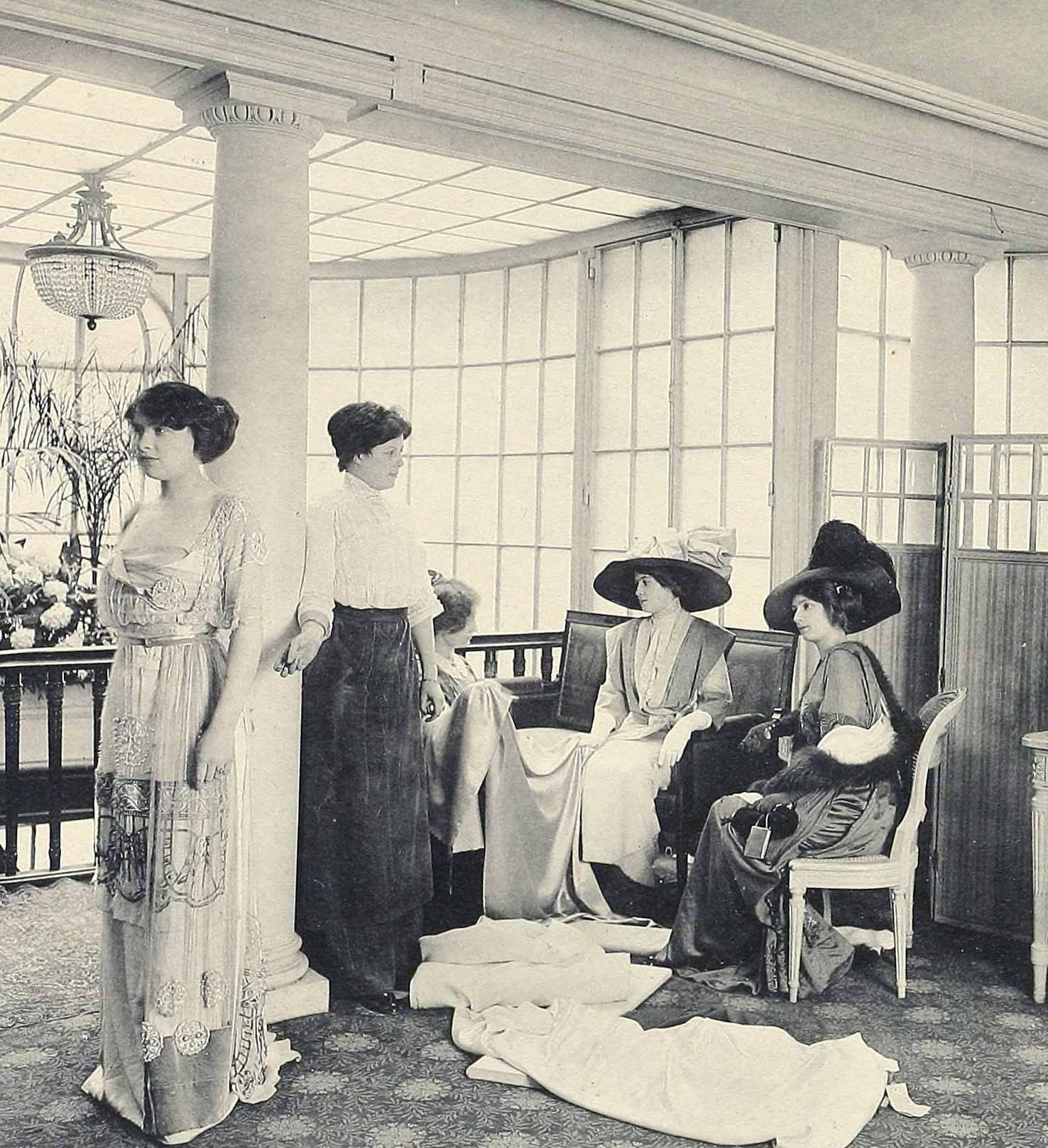 Salon Vintage Paris 1910 Fashion Images Les Createurs De La Mode 20th C