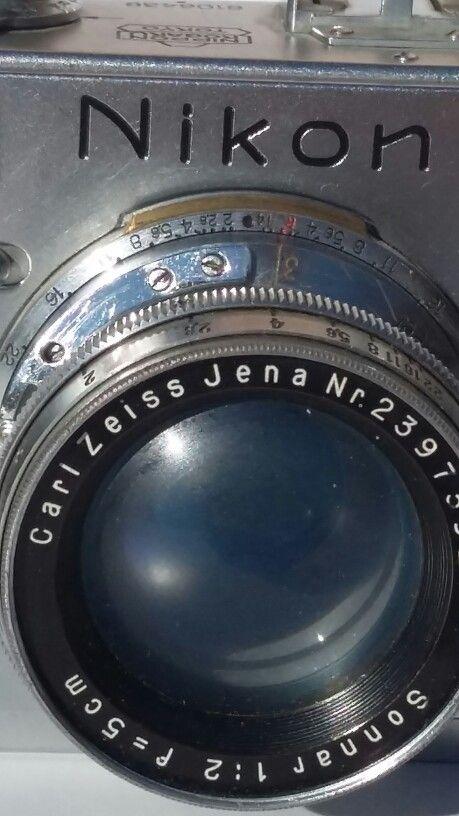 My Nikon S  Lens : Carl Zeiss Sonar 1.2    f : 5cm