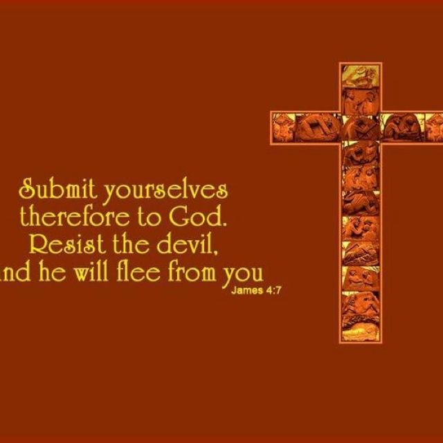 Submit to God | NAIL IT TO THE CROSS: THE CROSS MADE THE DIFFERENCE ...