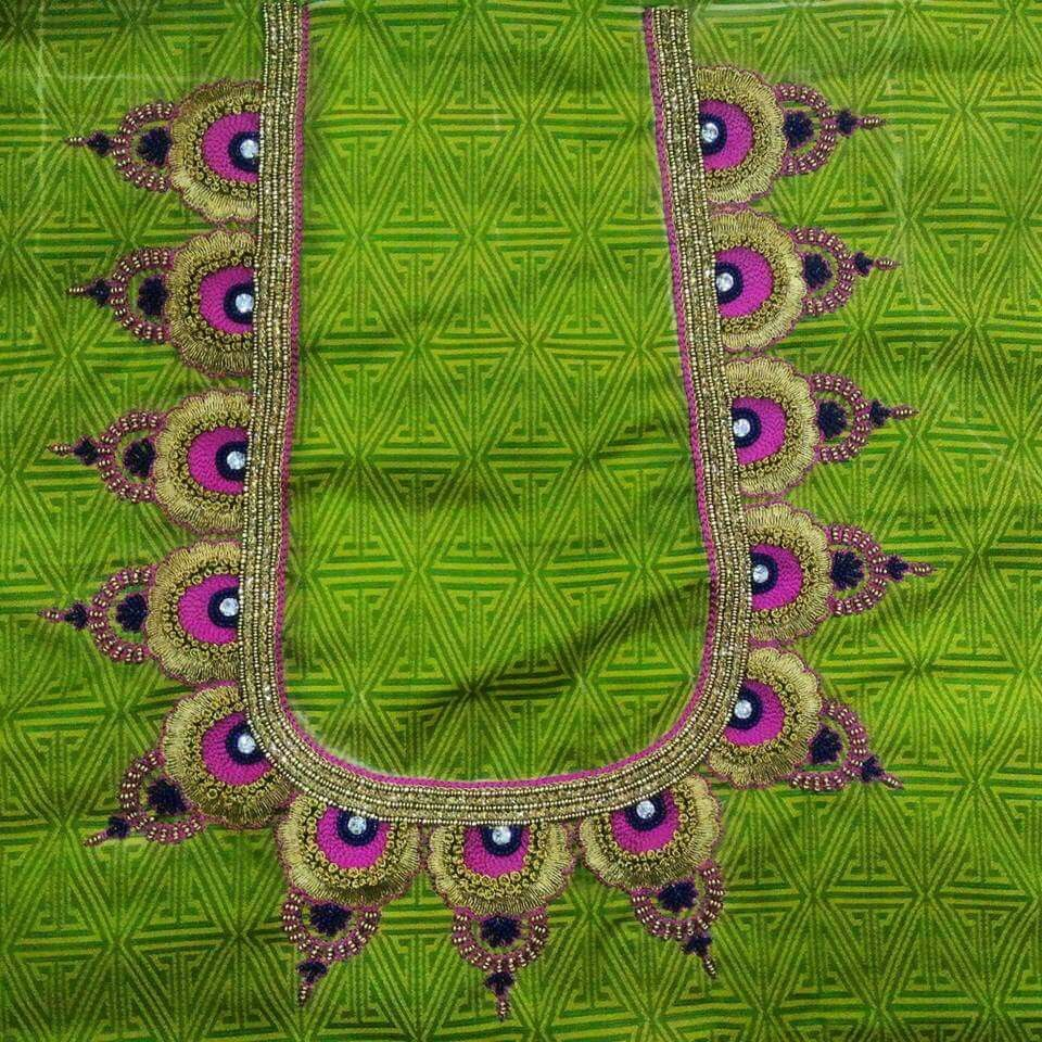 Pin by shirisha on maggam designs pinterest blouse designs