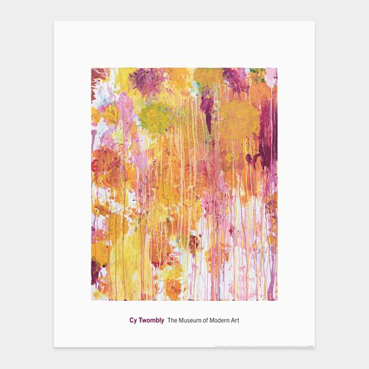 cy twombly: untitled 32x40 print, $85 | posters and prints ...