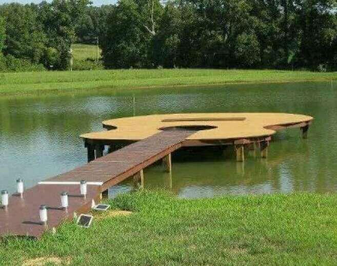 The Coolest Boat Dock Ever! #Home #Garden #Trusper #Tip