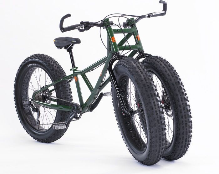 Rungu Juggernaut - The Three Wheeled Fat Bike