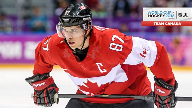 Sidney Crosby Named To Canada S World Cup Roster Hockey World Cup Sidney Crosby Team Canada