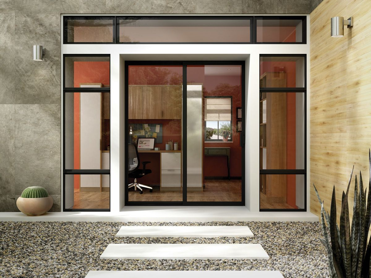 Photo 2 Of 10 In 10 Outdoor Living Trends That Bring Homeowners Replacement Patio Doors Sliding Patio Doors Best Sliding Glass Doors