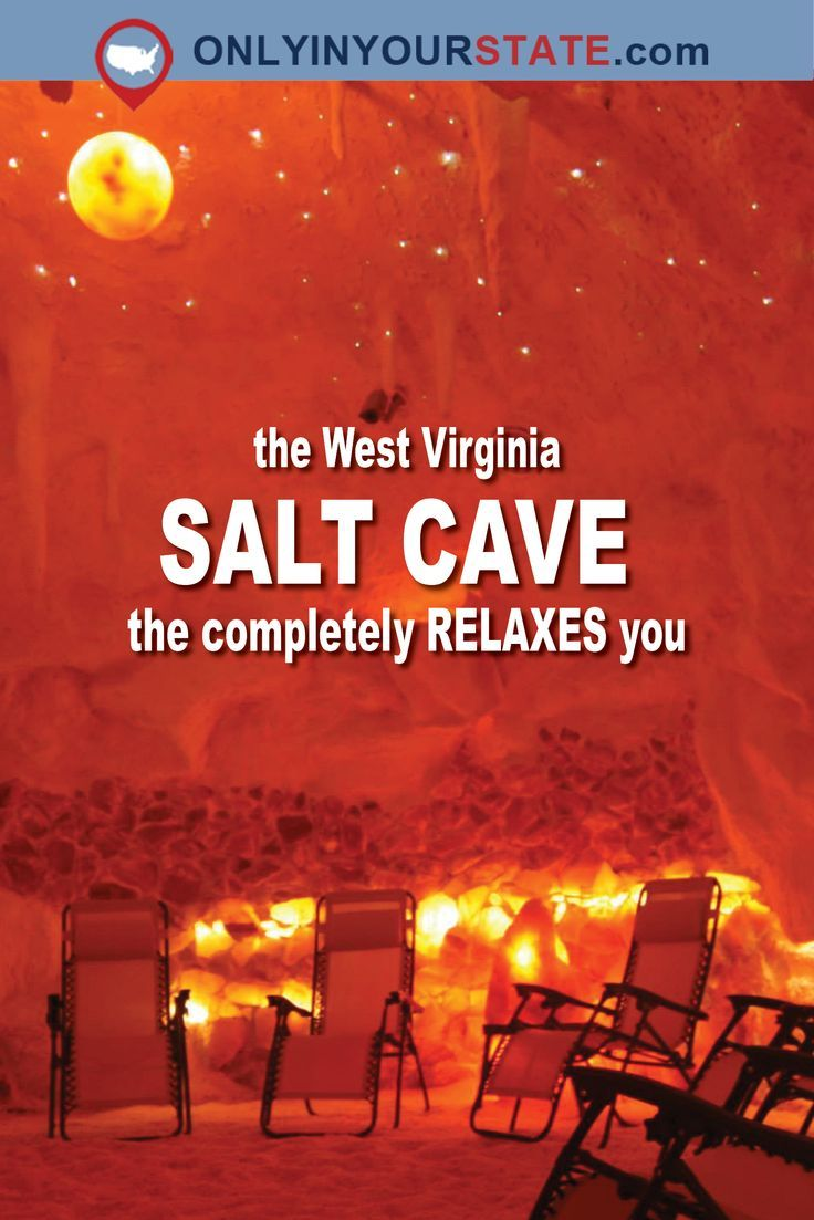 The Salt Cave And Spa In West Virginia Is A Beautiful