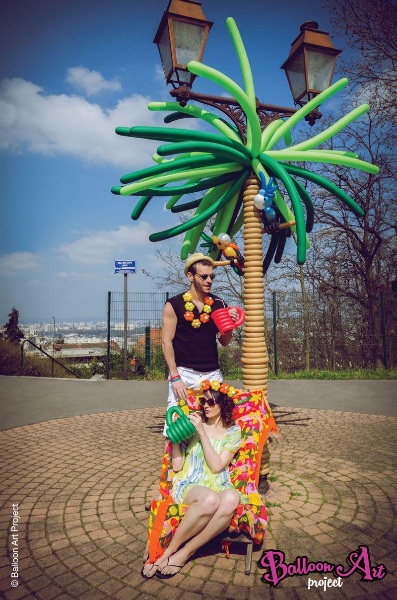 Concept : Doriane Kac Photographe : Lam le Thanh Balloon Art : Lili One, Styliste : Christian Verrilli
