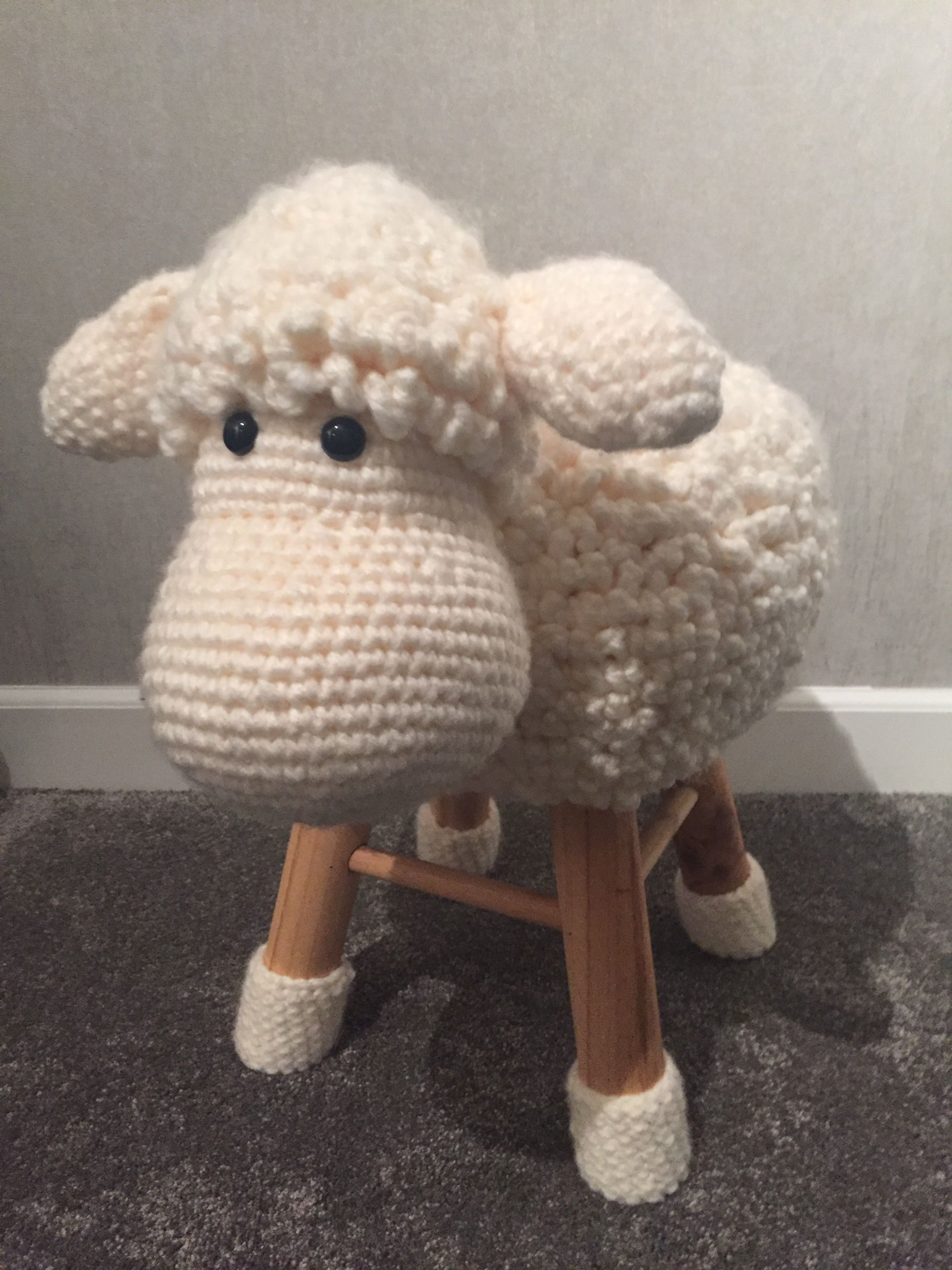 Handmade Schaap Krukje Patroon Hobbeldieren Crochet I Like