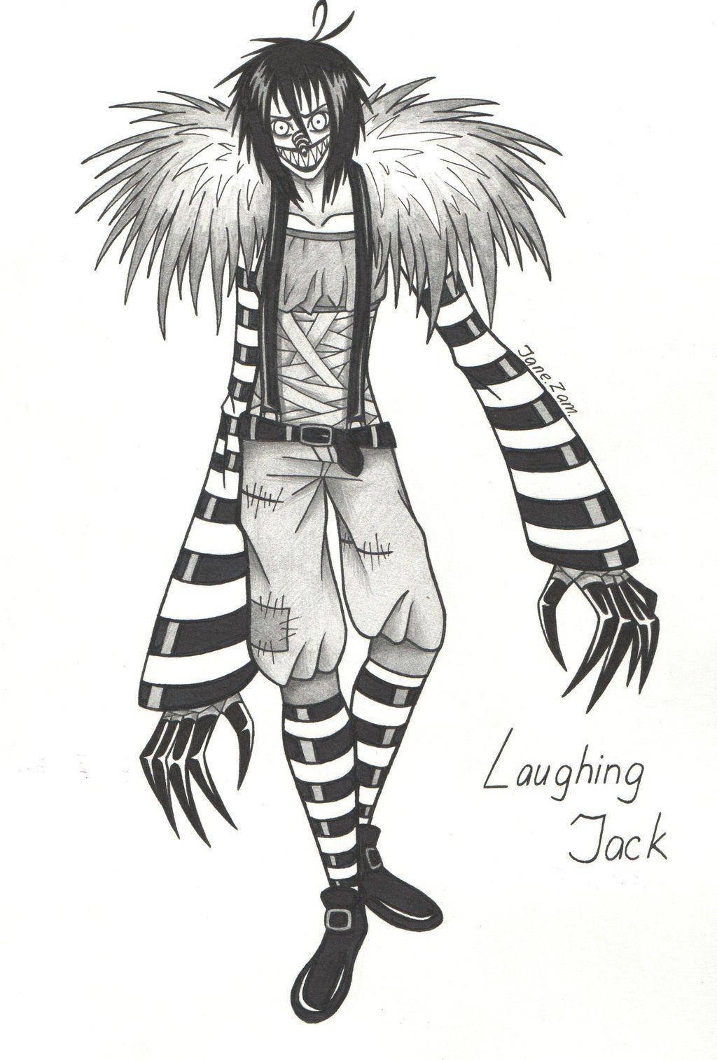 Laughing Jack Drawings Laughing Jack Jack Creepypasta Creepy Drawings