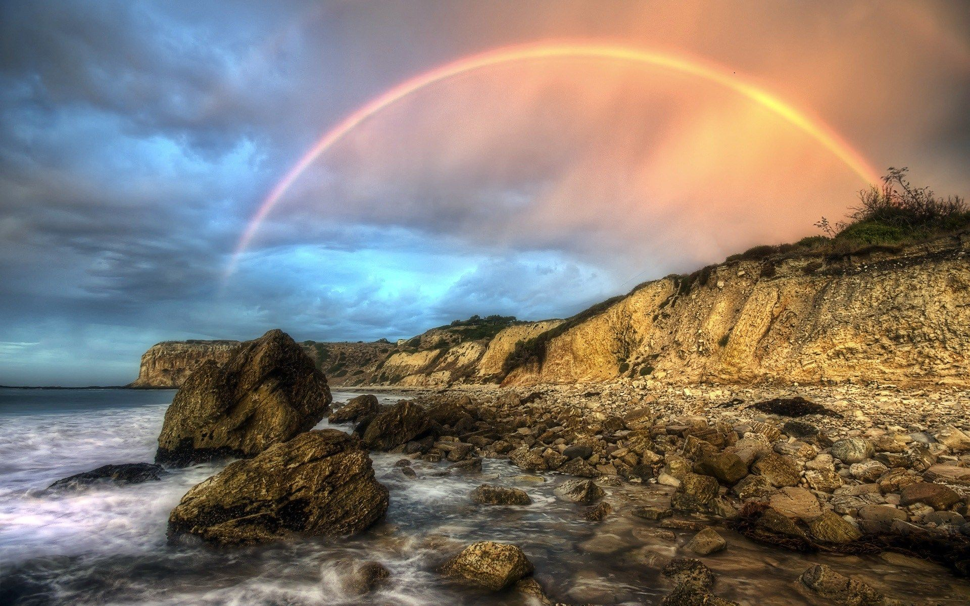 Latest Photos For Images For Desktop Nature Wallpaper Nature Rainbow Images