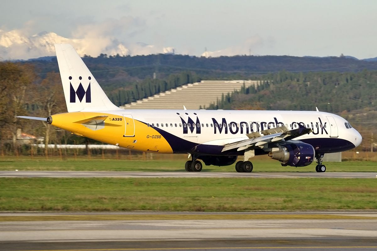Airbus A320 Monarch Airlines Author Lucian Ojog Monarch