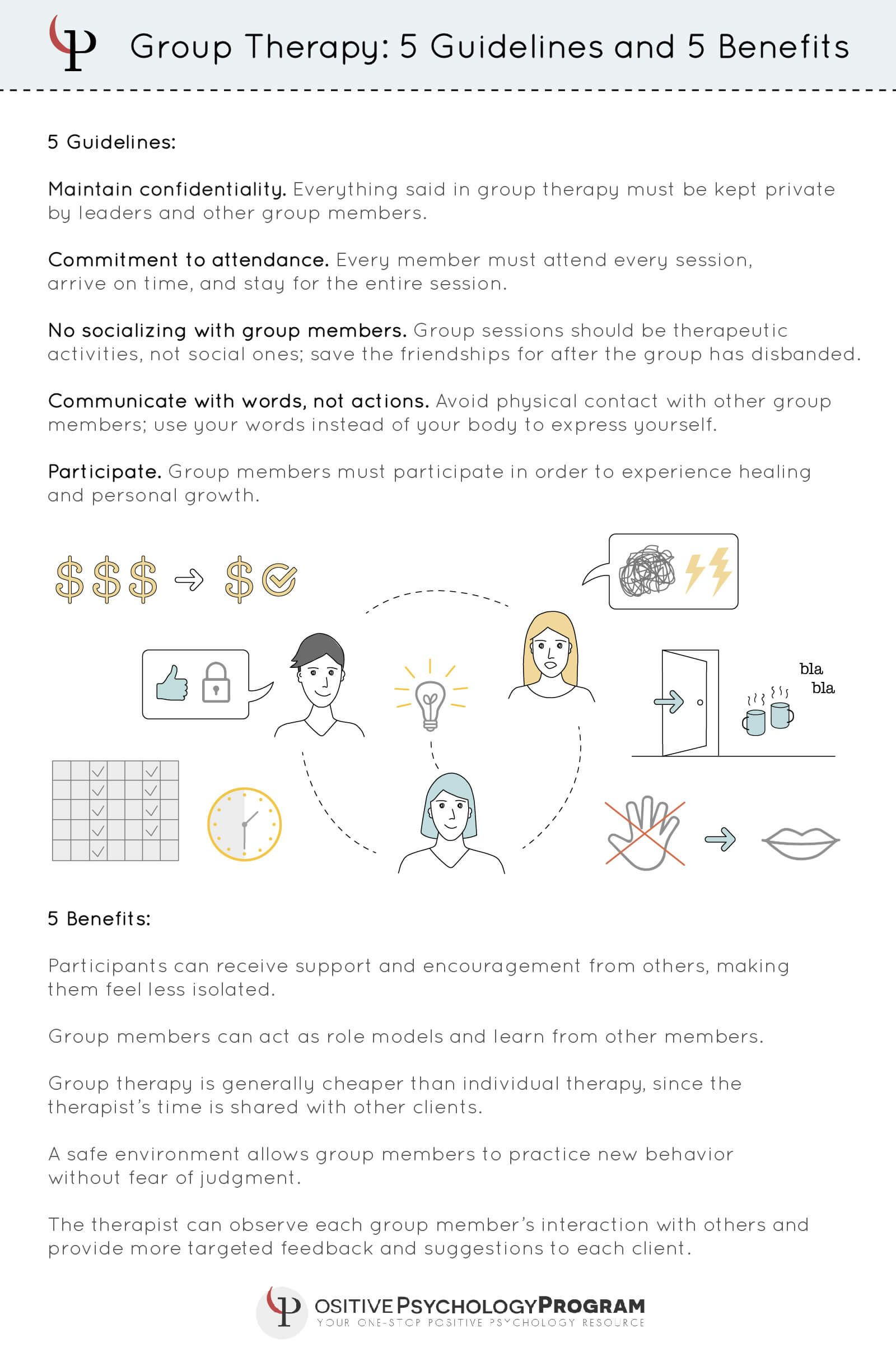Group Therapy Guidelines And Benefits