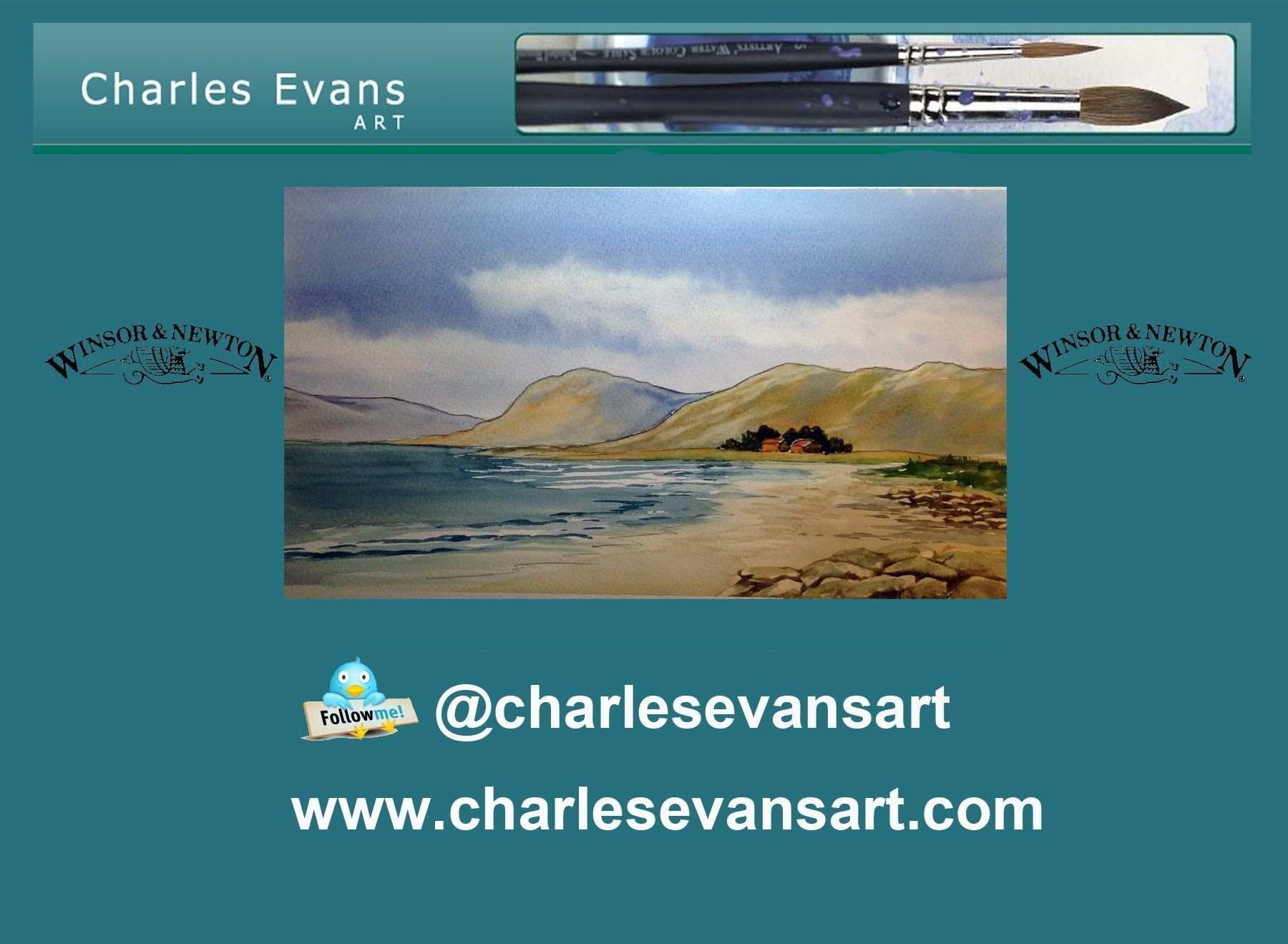 Charles Evans paints a beautiful highland scene for you to ...
