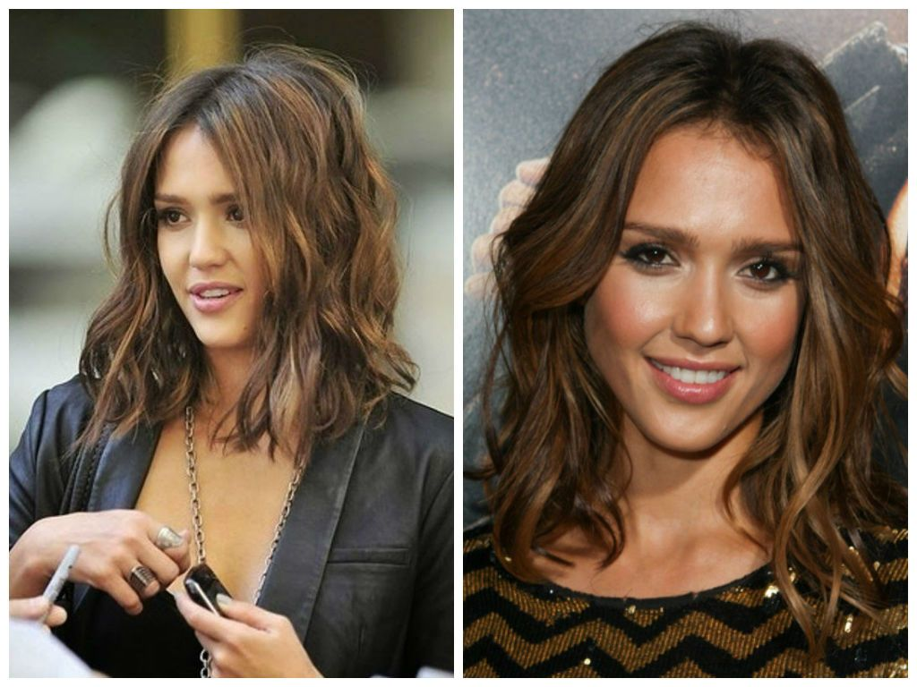 The Best Of Jessica Alba Hairstyles