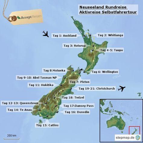 Neuseeland Rundreise Aktivreise Selbstfahrertour Mit Bildern