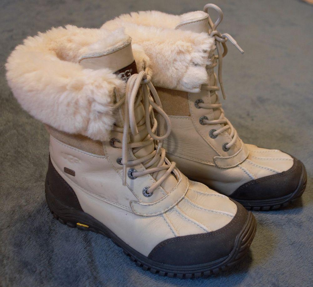 Ugg Adirondack Ii Women Winter Boots Leather Sand Us 7 Uk 5 Eu 38 Jp 24 Fashion Clothing Shoes Accessories Womensshoes Ebay Link