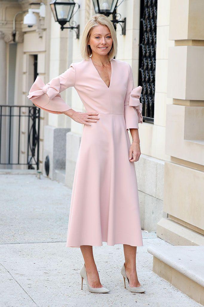 Beautiful pale pink dress!
