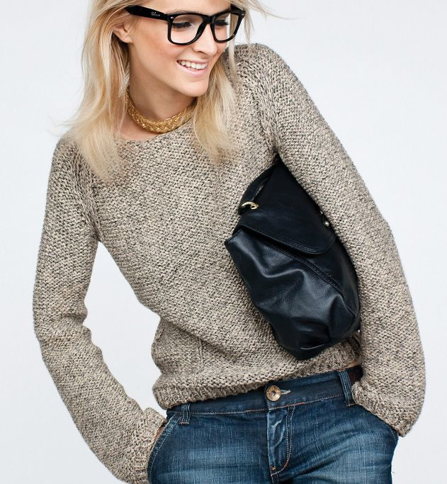 tricot pull fille