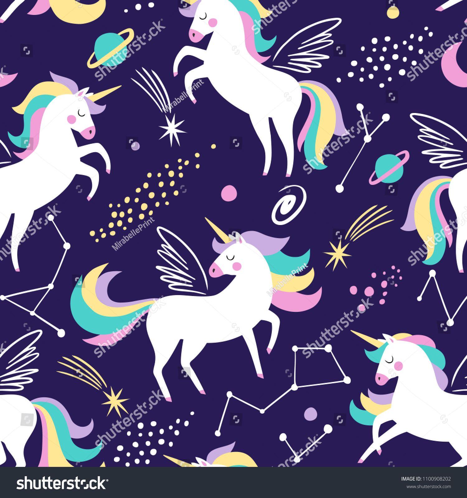 Wallpaper My girly wallpaper Pinterest Unicorns and