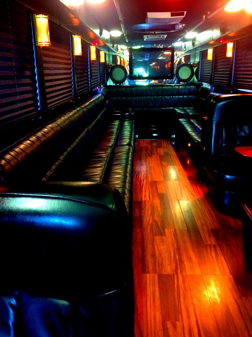 Cheap party bus in miami limo bus limousine party bus