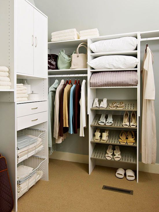 Top Organizing Tips for Closets Shoe rack, Storing shoes and