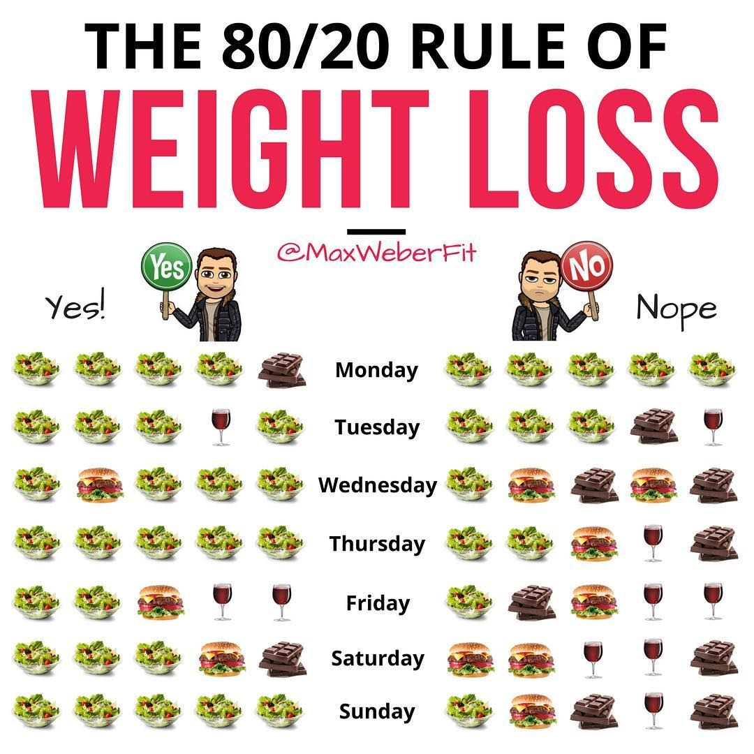 what is the 80 20 diet plan